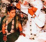 Kajol and Ajay Devgan wedding pictures