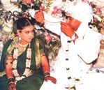 Kajol and Ajay Devgan wedding pictures (2)