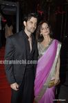 Hrithik   Suzanne Roshan and Laila Khan s wedding reception (2)