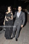 Isha Koppikar was potted with husband Timmy Narang  at Laila Khan Reception Party