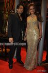 Laila Khan with husband Farhan Furniturewala at  their wedding reception (1)