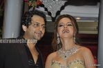 Laila Khan with husband Farhan Furniturewala at  their wedding reception (3)