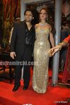 Laila Khan with husband Farhan Furniturewala at  their wedding reception (4)