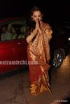 Rekha at  Laila Khan s wedding reception (2)