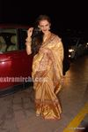 Rekha at  Laila Khan s wedding reception (3)
