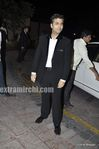 karan johar at Laila Khan Reception Party