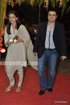 sonali bendre with goldie behl at wedding of Mushtaq Sheikh sister Najma