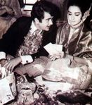 Randhir Kapoor and Babita wedding pictures