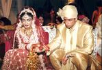 Raveena Tandon and  Anil Thadani wedding pictures