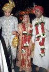 Riddhima Kapoor, daughter of Rishi Kapoor   Neetu Singh and sister of acotr Ranbir Kapoor, married Delhi baased garment exporter Bharat Sawhney on 25Jan2006