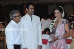 Photos of Indian tennis star Sania Mirza and Pakistan former cricket captain Shoaib Malik  - Sangeet and marriage ceremonies photos (3)