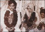 wedding of Shatrughan Sinha to Poonam Sinha
