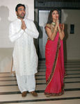 Raj Kundra, Shilpa Shetty at Shilpa Shetty engagement with Raj Kundra, Raj Kundra home in Juhu, Mumbai, 24th October, 2009 (1)