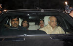 Shilpa Shetty, Mother, Father at Shilpa Shetty engagement with Raj Kundra, Raj Kundra home, Juhu, Mumbai, 24th October, 2009