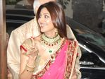 Shilpa Shetty at Shilpa Shetty engagement with Raj Kundra, Raj Kundra home in  Juhu, Mumbai (2)