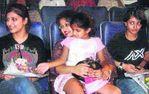 Gautami with Shruthi and Akshara