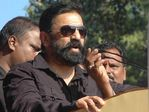 Kamal Hassan at Karnataka water issue hunger strike
