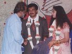 Rajinikanth at ajith Shalini marriage
