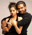 Actor Simbu,Actress Vedhika