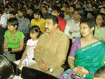 Akshara Hassan with Kamal and Gouthami and her daughter