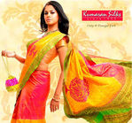 Actress Bindu Madhavi in Kumaran Silks Ad