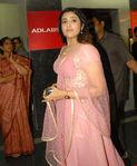 Meena at Kathanayakudu(Kuselan) premiere show at Ad Labs Hyderabad