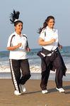 Actress Meena and Meera Jasmine in Mariyadhai  movie