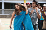 Stylish Nayanthara Wears Stylish Saree in Aegan