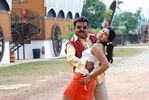 Sheryl Pinto with Vijayakanth in Arasangam