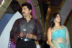 Varalakshmi with father Sarathkumar at Filmfare Awards Function