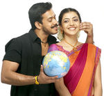 Kajal Aggarwal and Bharath in Pazhani