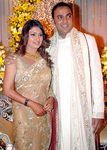 Malavika with Sumesh