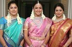 3 sisters - Roshini, Jyotika and Nagma (at Jyotika marriage )