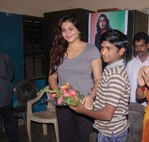 Namitha meets Kids at Children welfare association (2)
