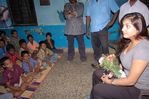Namitha meets Kids at Children welfare association (5)