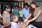Namitha meets Kids at Children welfare association (6)