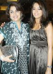 Ramya Krishnan with Trisha Krishnan