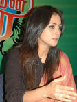 Simran at  'Simran Thirai' launch function