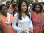 Trisha fan club celebrates birthday