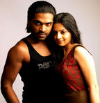 Vedhika with Simbu