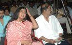 Swarnamalya at Abhiyum Naanum movie audio launch