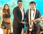 Jackie Chan, Mallika , K S Ravi Kumar at Dasavatharam audio launch