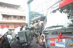 Kollywood Glam doll Nayanthara flagged off Kuselan Bus at Big 92.7 FM Chennai