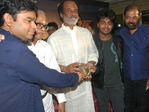 A R Rahman,K Balachander,Rajinikanth, G.V Prakash, P Vasu at Kuselan audio launch