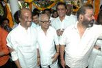 "Rajini at ""Kuselan"" movie pooja"