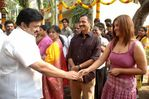 "prabhu at ""Kuselan"" movie pooja"
