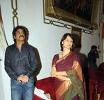 Nagarjuna with wife Amala at ANR Award function