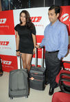Namitha inaugurated the flagship VIP Lounge on Dr. Radhakrishnan Road in Chennai