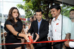 Namitha inaugurated the flagship VIP Lounge on Dr. Radhakrishnan Road in Chennai