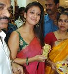 Stylish Nayanthara at the inauguration of a jewellery shop in Thiruvananthapuram